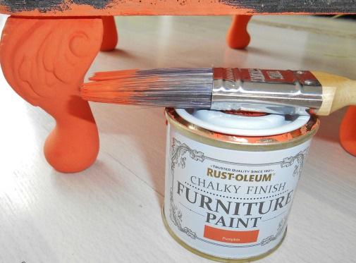 Pumpkin Chalky Paint Sprayster