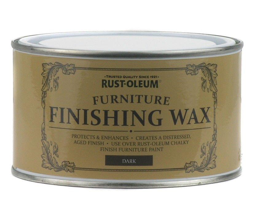Dark Furniture Wax 400ml Rust Oleum Shabby Chic Finish Sprayster