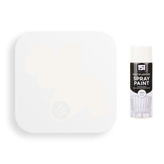 400ml 151 White Matt Spray Paint 2