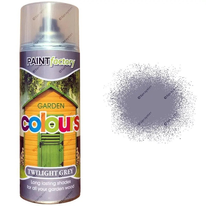 Twilight Grey Spray Paint 400ml Sprayster