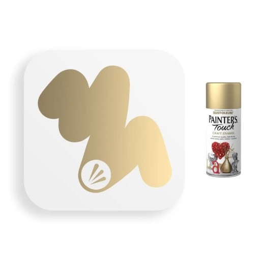 Rust-Oleum-Gold-Metallic-Spray-Paint-Painter_s-Touch-Craft-Enamel-150ml