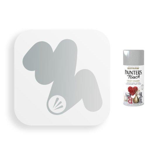 Rust-Oleum-Silver-Metallic-Spray-Paint-Painter_s-Touch-Craft-Enamel-150ml