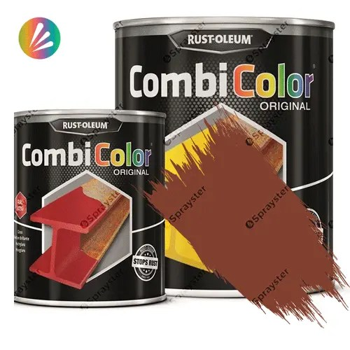 Direct-To-Metal-Paint-Rust-Oleum-CombiColor-Original-Satin-750ml-Sprayster-Red-Lilac