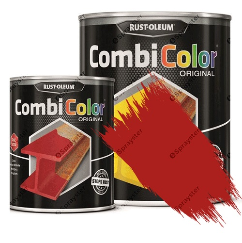 Direct-To-Metal-Paint-Rust-Oleum-CombiColor-Original-Satin-Sprayster-Bright-Red