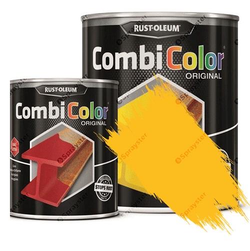 Direct-To-Metal-Paint-Rust-Oleum-CombiColor-Original-Satin-Sprayster-Gold