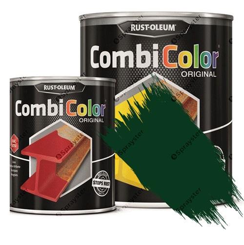 Direct-To-Metal-Paint-Rust-Oleum-CombiColor-Original-Satin-Sprayster-Moss-Green
