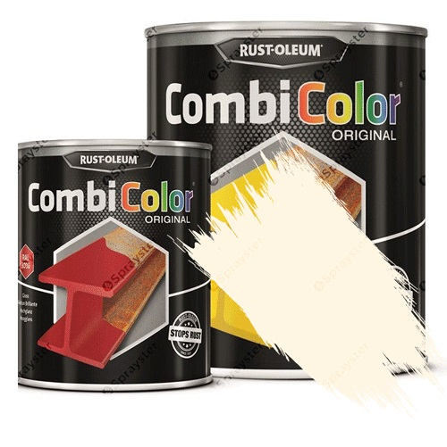 Direct-To-Metal-Paint-Rust-Oleum-CombiColor-Original-Satin-Sprayster-Oyster-White