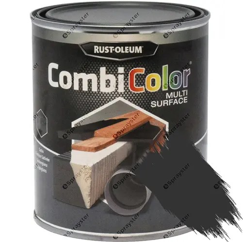 Rust-Oleum-CombiColor-Multi-Surface-Paint-Black-Matt-750ml-391856367248-sprayster-b