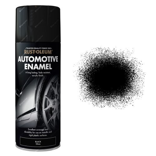 Rust-Oleum-Auto-Car-Enamel-Aerosol-Spray-Paint-Gloss-Black-Sprayster