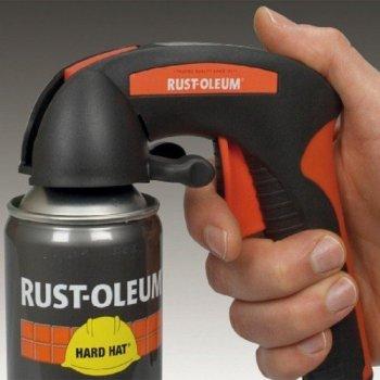 Rust-Oleum Aerosol Trigger Attached
