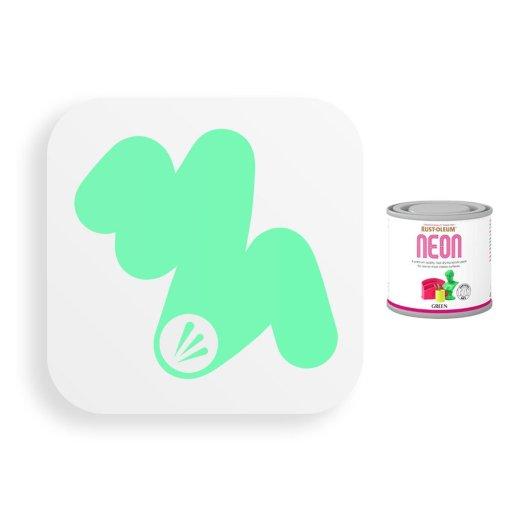 Rust-Oleum-Bright-Neon-Green-Paint-Toy-Safe-125ml