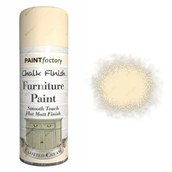 x1-Paint-Factory-Multi-Purpose-Chalk-Spray-Paint-400ml-Clotted-Cream-Matt