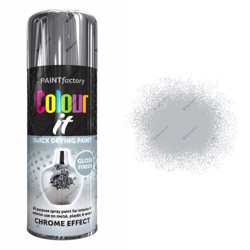 x1-Paint-Factory-Multi-Purpose-Colour-It-Spray-Paint-400ml-Chrome-Effect-Gloss