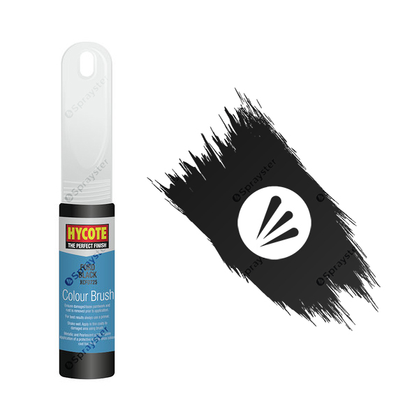 Hycote-Ford-Black-XCFD725-Brush-Paint
