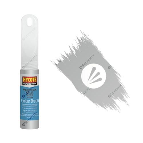 Hycote-Volkswagen-Reflex-Silver-XCVW604-Brush-Paint