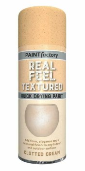 Paint Factory Real Feel Clotted Cream Spray 400ml