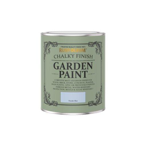 Rust-Oleum Chalky Garden Paint Powder Blue Matt 750ml