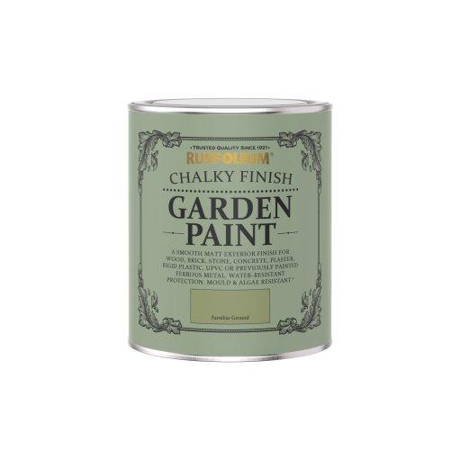 Rust-Oleum Chalky Garden Paint Familiar Ground Matt 750ml