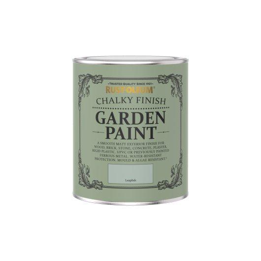 Rust-Oleum Chalky Garden Paint Leaplish Matt 750ml