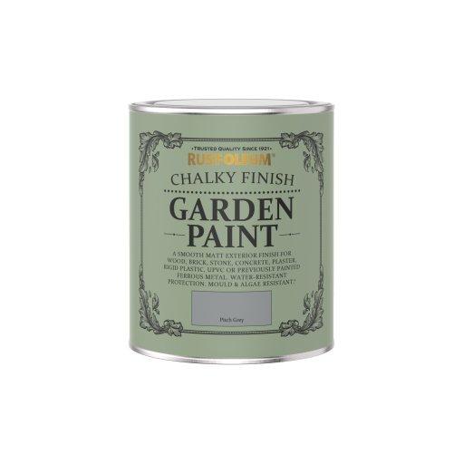Rust-Oleum Chalky Garden Pitch Grey Matt 750ml