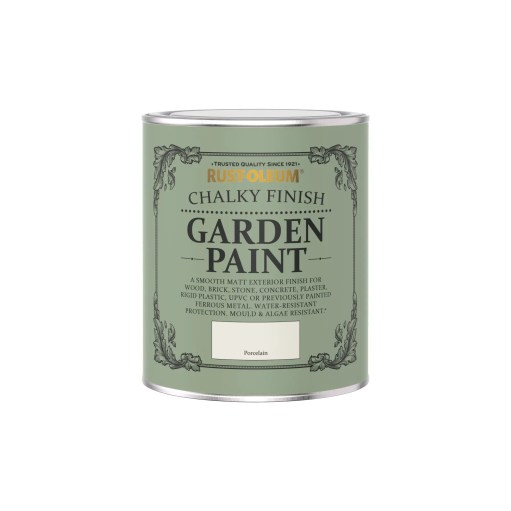 Rust-Oleum Chalky Garden Paint Porcelain Matt 750ml