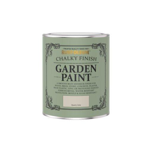 Rust-Oleum Chalky Garden Paint Quarry Lime Matt 750ml