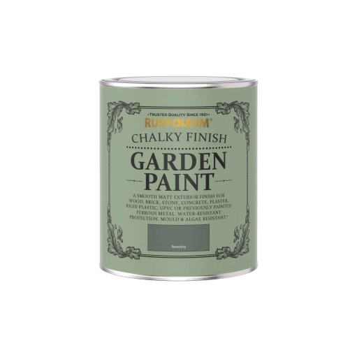 Rust-Oleum Chalky Garden Paint Serenity Matt 750ml