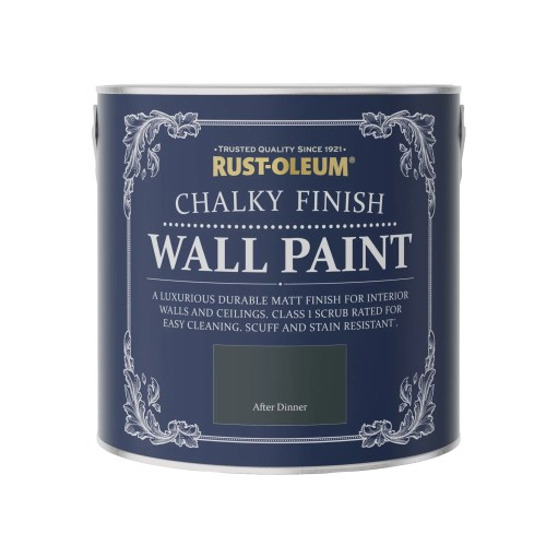 Rust-Oleum-Chalky Wall Paint After Dinner 2.5L