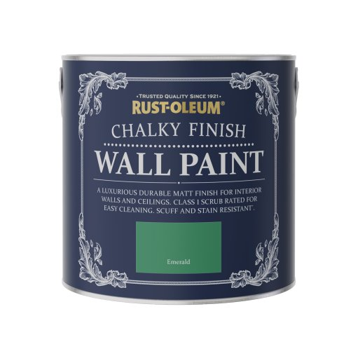Chalky Wall Paint Emerald 2.5L
