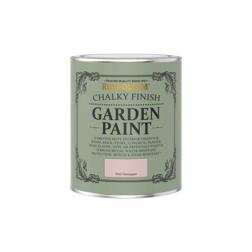 Rust-Oleum Chalky Garden Pink Champagne Matt 750ml