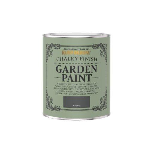 Rust-Oleum Chalky Garden Paint Graphite Matt 750ml
