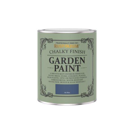 Rust-Oleum Chalky Garden Paint Ink Blue Matt 750ml