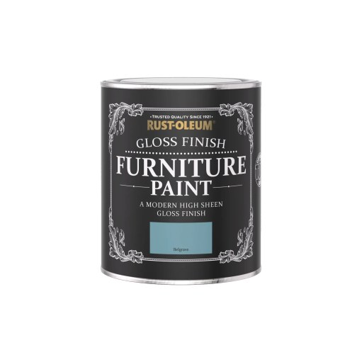 Rust-Oleum Gloss Furniture Paint Belgrave 750ml