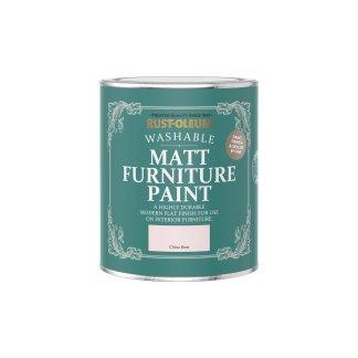 Rust-Oleum Matt Furniture Paint China Rose 750ml