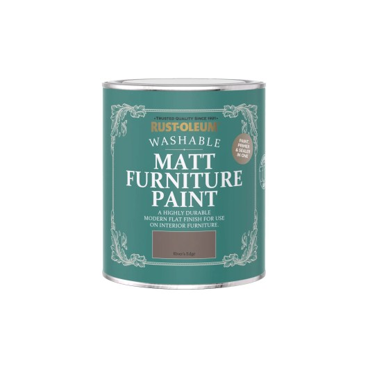 Rust-Oleum Matt Furniture Paint River's Edge 750ml