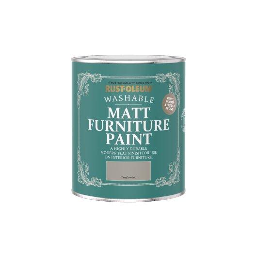 Rust-Oleum Matt Furniture Paint Tanglewood 750ml