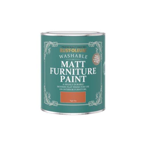 Rust-Oleum Matt Furniture Paint Tiger Tea 750ml