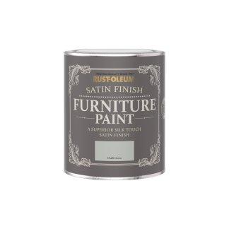 Rust-Oleum Satin Furniture Paint Chalk Green 750ml
