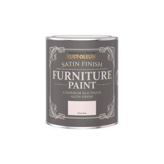 Rust-Oleum Satin Furniture Paint China Rose 750ml