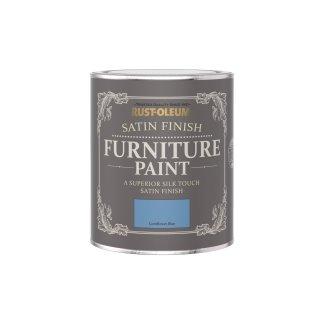 Rust-Oleum Satin Furniture Paint Cornflower Blue 750ml