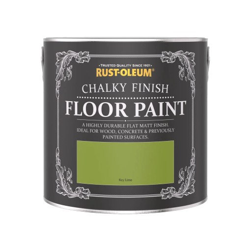 Chalky Floor Paint Key Lime 2.5L