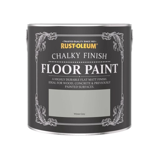 Chalky Floor Paint Winter Grey 2.5L