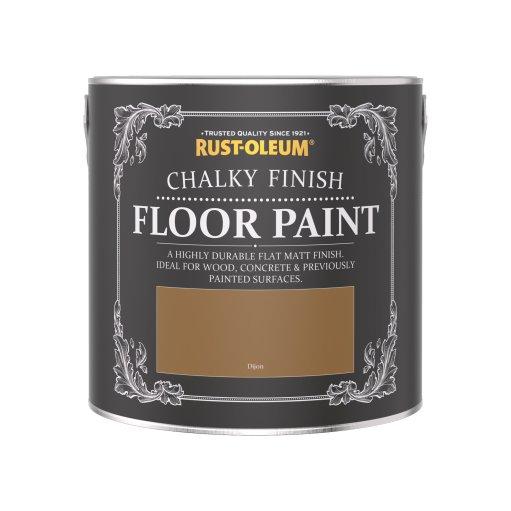 Rust-Oleum Chalky Floor Paint Dijon Matt 2.5L