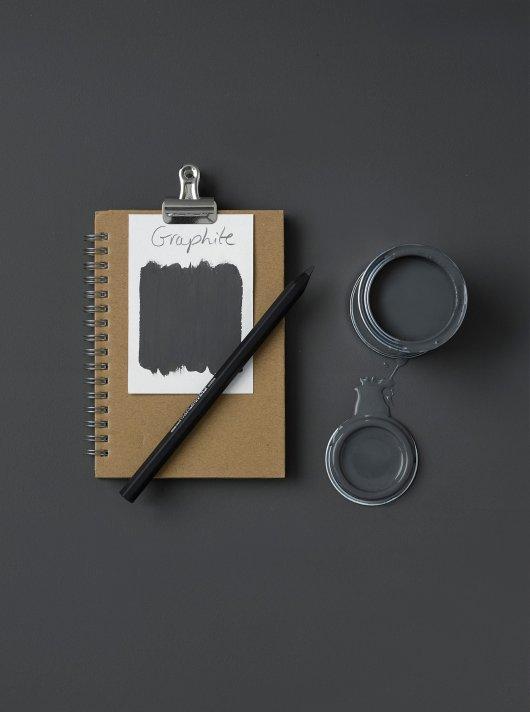 Rust-Oleum Chalky Floor Paint Graphite Matt 2.5L 2