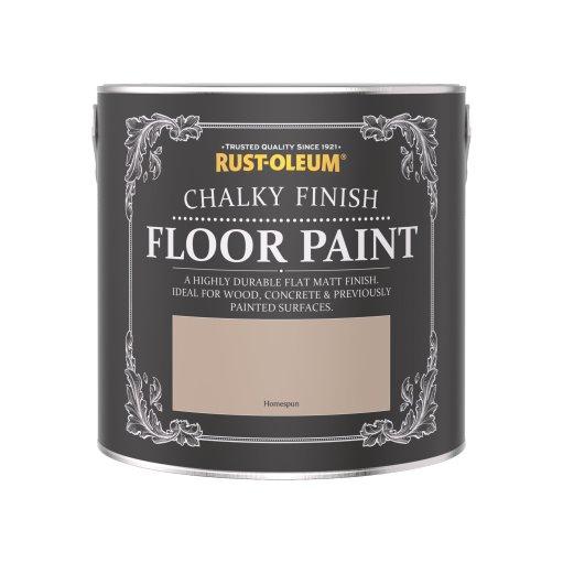 Rust-Oleum Chalky Floor Paint Homespun Matt 2.5L