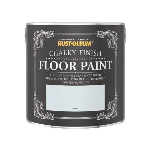 Rust-Oleum Chalky Floor Paint Icecap Matt 2.5L