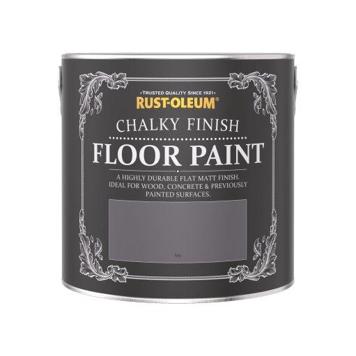 Rust-Oleum Chalky Floor Paint Iris Matt 2.5L