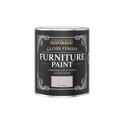 Rust-Oleum Gloss Furniture Paint Elbow Beach 750ml