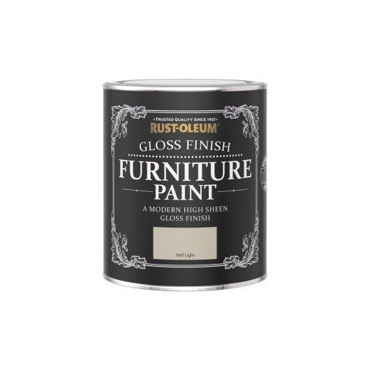 Rust-Oleum Gloss Furniture Paint Half Light 750ml