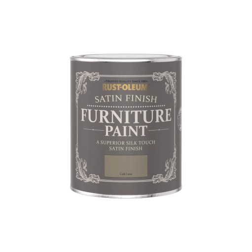 Rust-Oleum Satin Furniture Paint Cafe Luxe 750ml